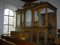Orgel der Andreaskirche in Triensbach
